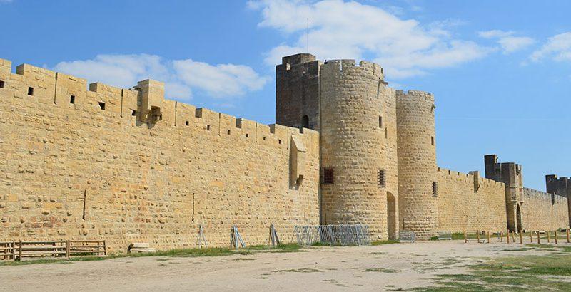 Stadtmauer-Aigues-Mortes-Camargue