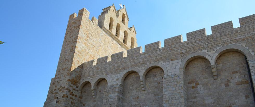 Saintes-Maries-de-la-Mer Kirche Camargue