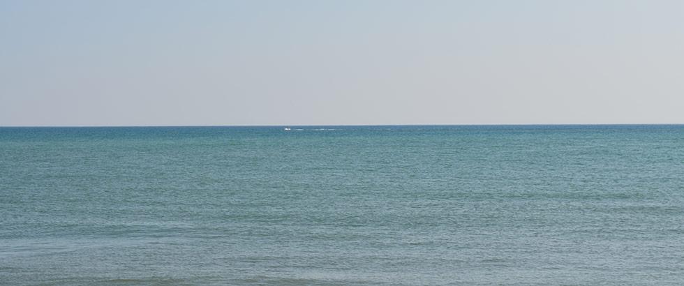 Strand und Meer bei Saintes-Maries-de-la-Mer