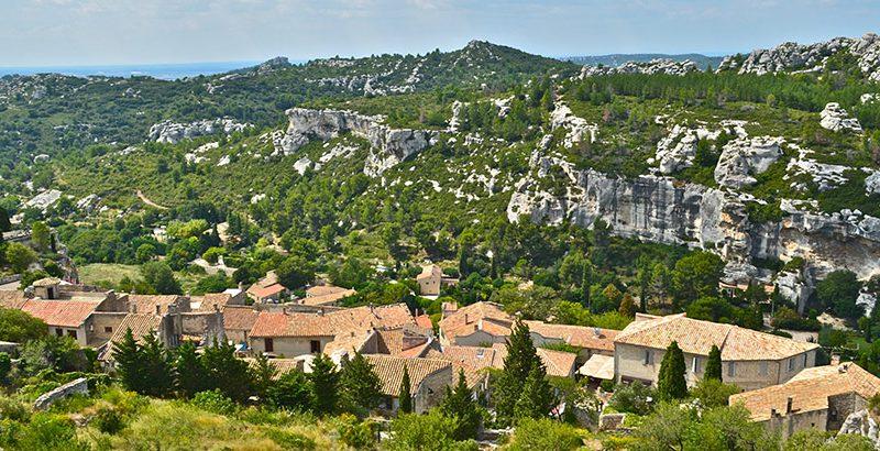 Haute-Provence Region Landschaft