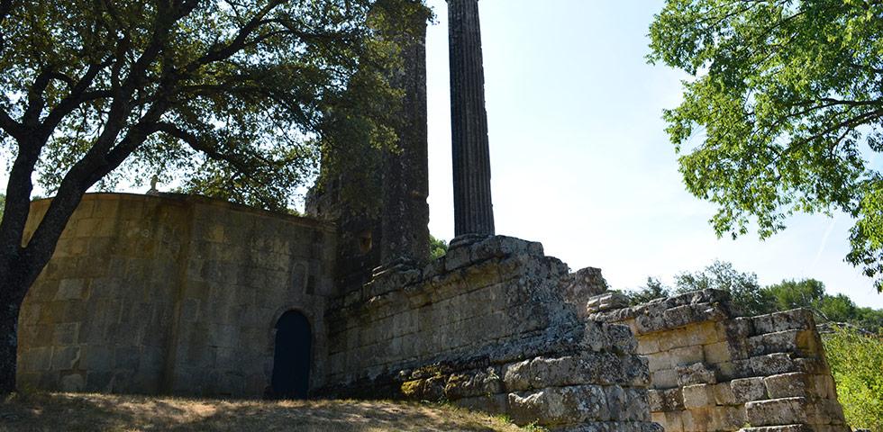 Römischer Tempel bei Vernègues