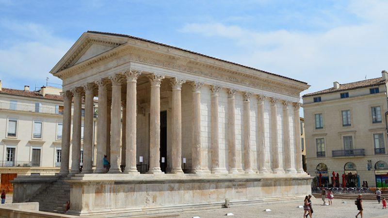 Nimes-Maison-Carée-Tempel-römer