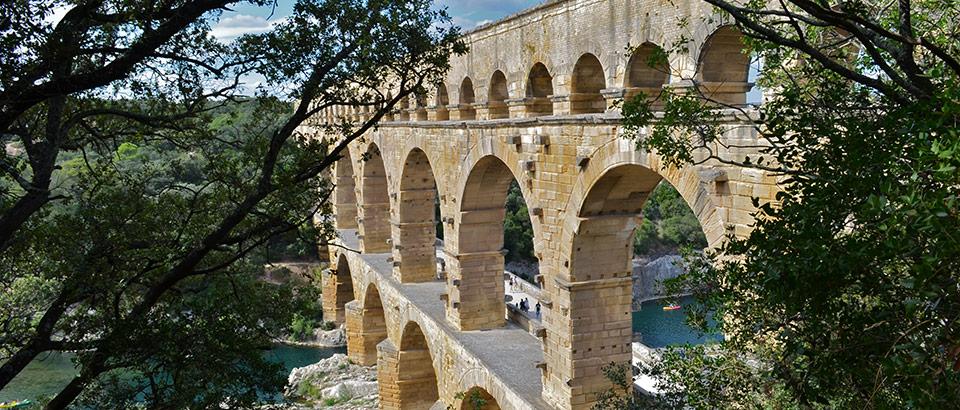 pont du gard provence antike