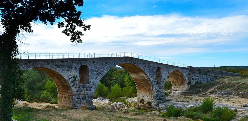 Römerbrücke Pont Julien bei Bonnieux