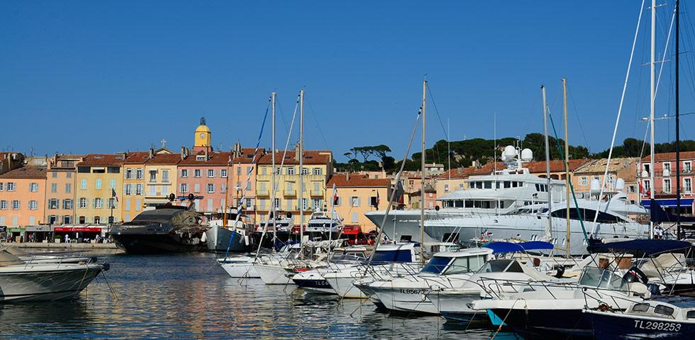 Saint-Tropez an der Côte d'Azur