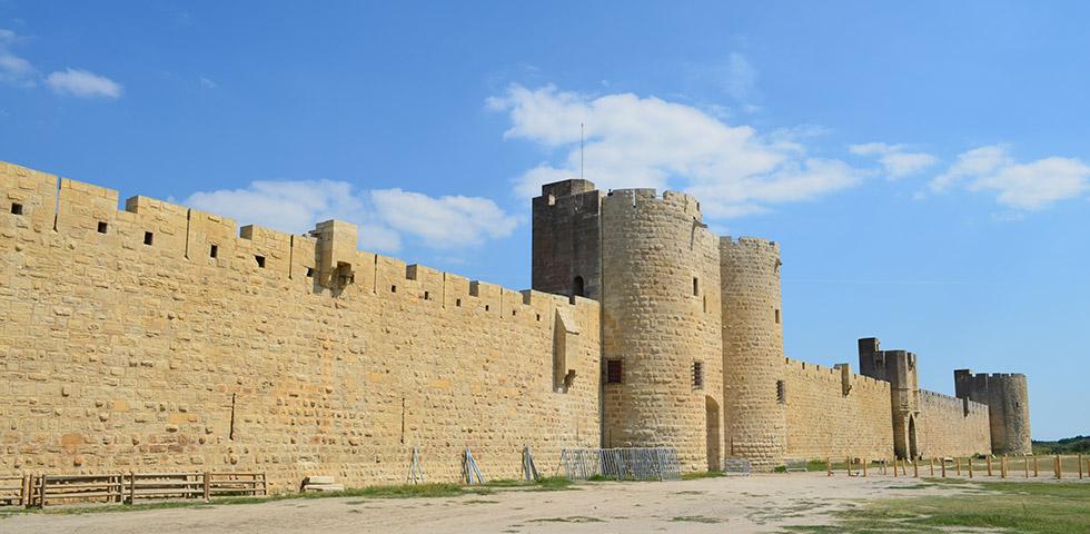 Aigues-Mortes Camargue Stadtmauer