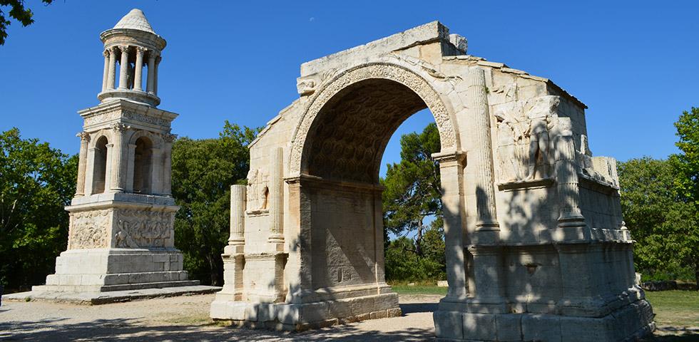 Alpilles-glanum-stadttor-provence