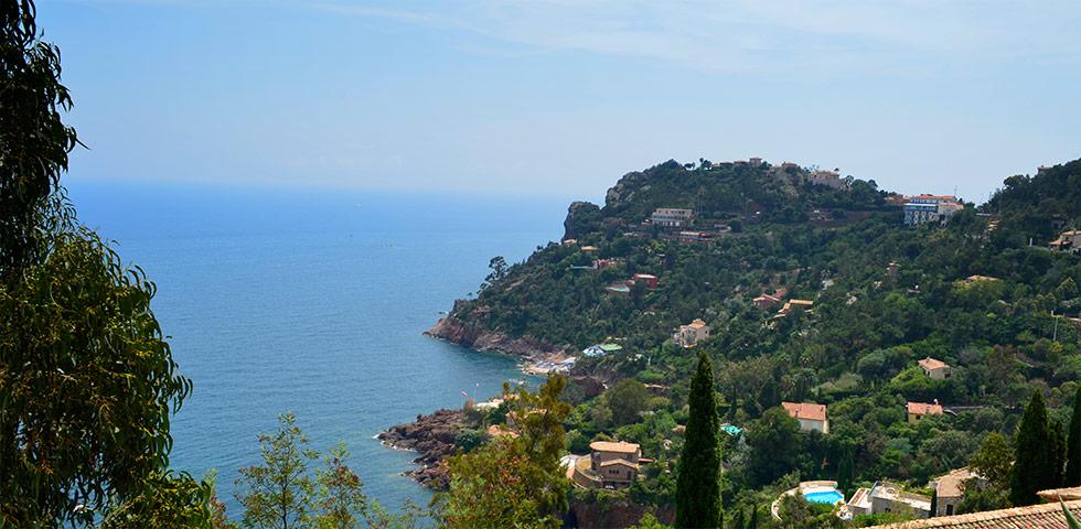 Orte und Dörfer Massif de l'Estérel