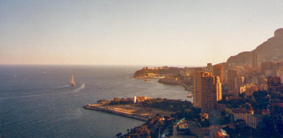 Hafen von Monaco Fürstentum