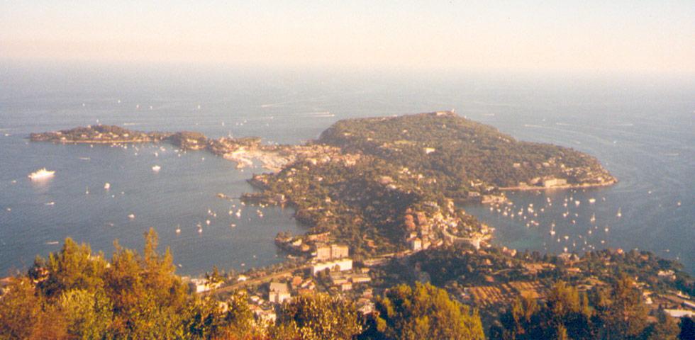 Cap Ferry an der Côte d'Azur