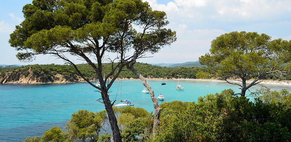 Plage Estagnol Côte d'Azur Bucht