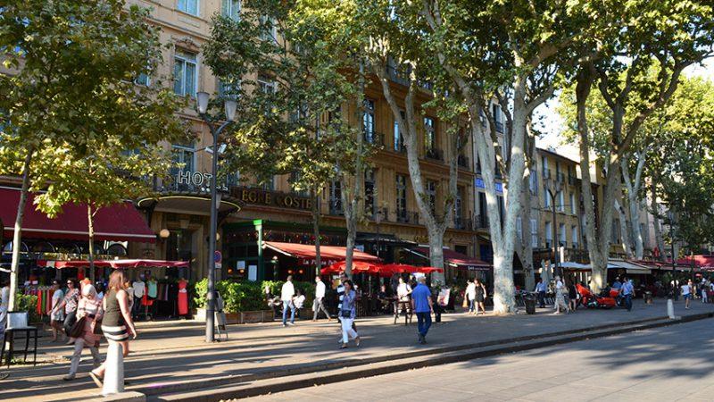 aix-en-provence-cours-mirabeau-boulevard-geschäfte