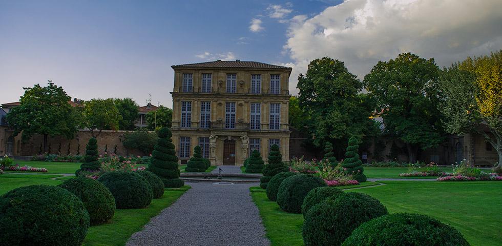 Aix-en-Provence Palast Palais Pavillon de Vendôme