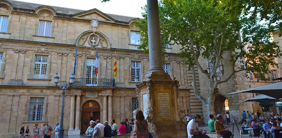 Aix-en-Provence Rathaus Mairie Rathausplatz