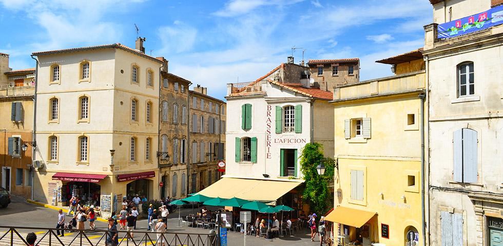 Römerstadt Arles Provence Altstadt