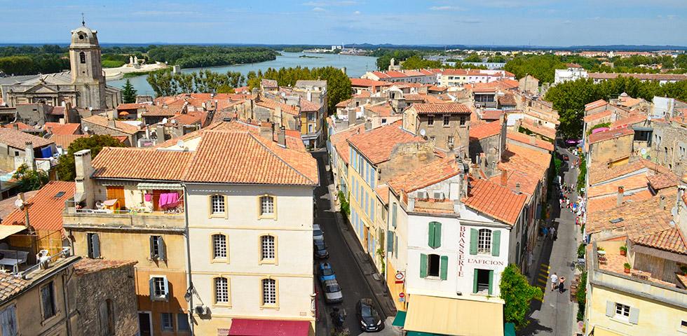 Arles Altstadt Rhone