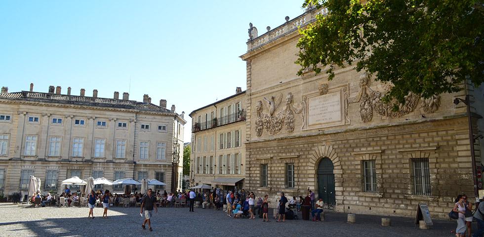 Avignon - Place de l'Horloge