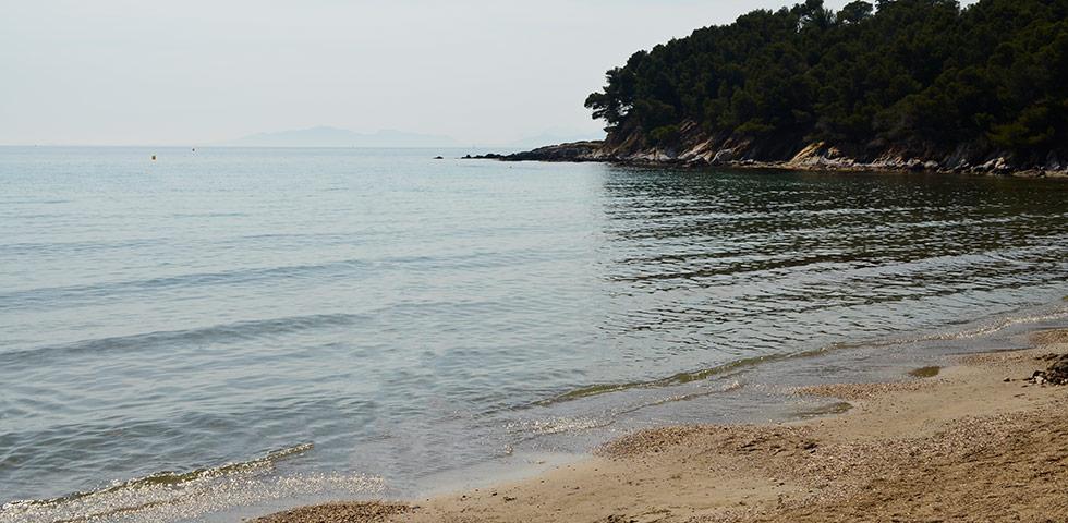 Plage de Brégançon Côte d'Azur