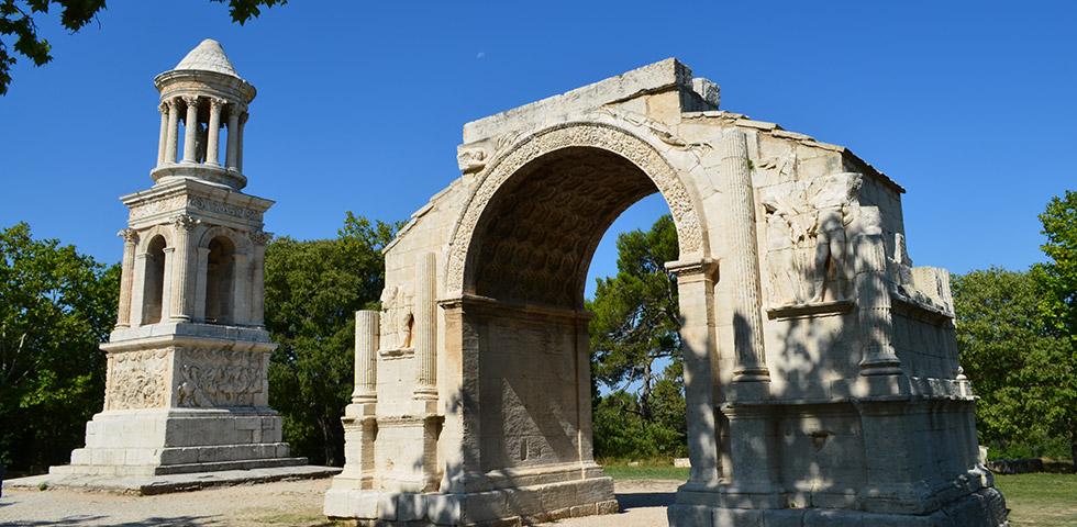 Glanum Antike Stadt im Vallée les-Beaux