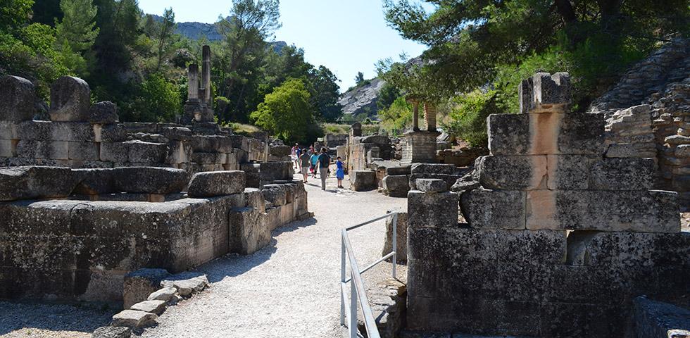 Glanum Ausgrabungen Provence