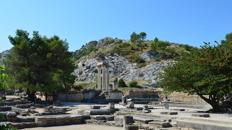 Glanum Antike Stadt Provence