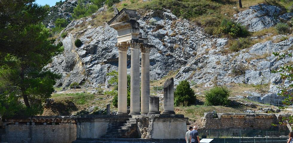 Römerstadt Glanum Ruine Tempel