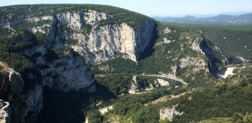 Ardèche Gorges - Schlucht