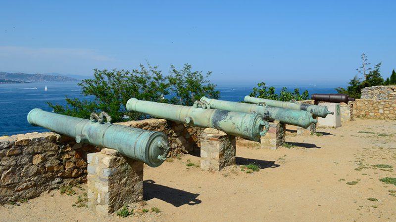 la-citadelle-saint-tropez-kanonen