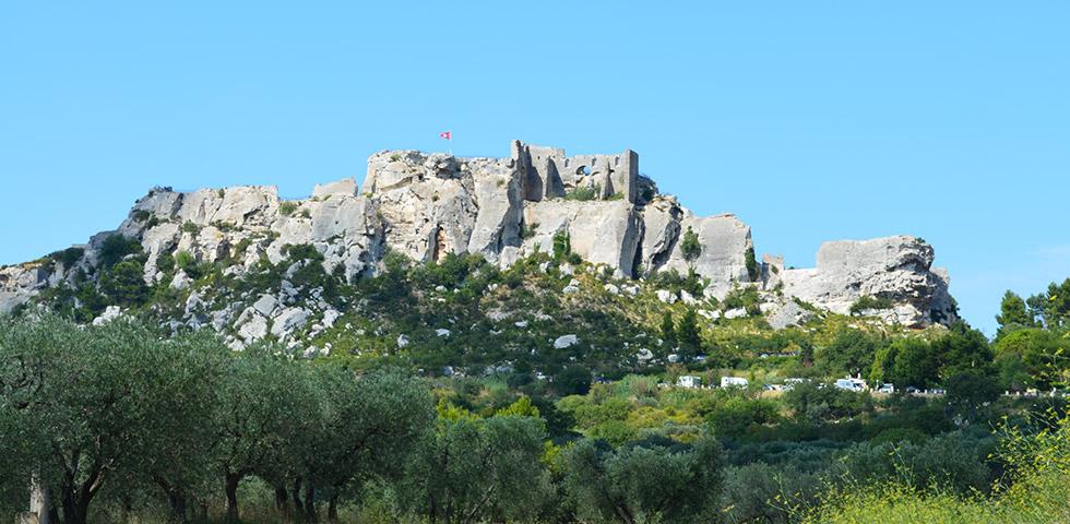 Les Beaux-de-Provence burg ruine provence