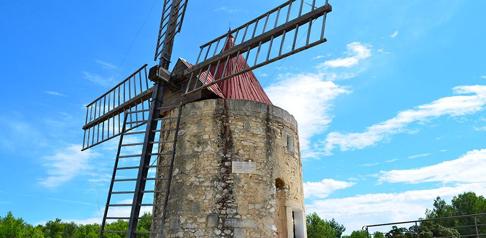 Windmühle van Gogh Moulin Daudet Fontvieille