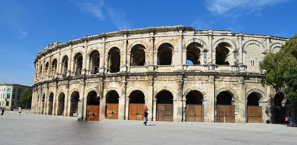 Amphitheater von Nimes Arena