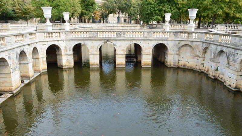 nimes-parkanlagen-Jardins de la Fontaine-urlaub