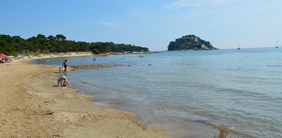 Strand von Brégançon