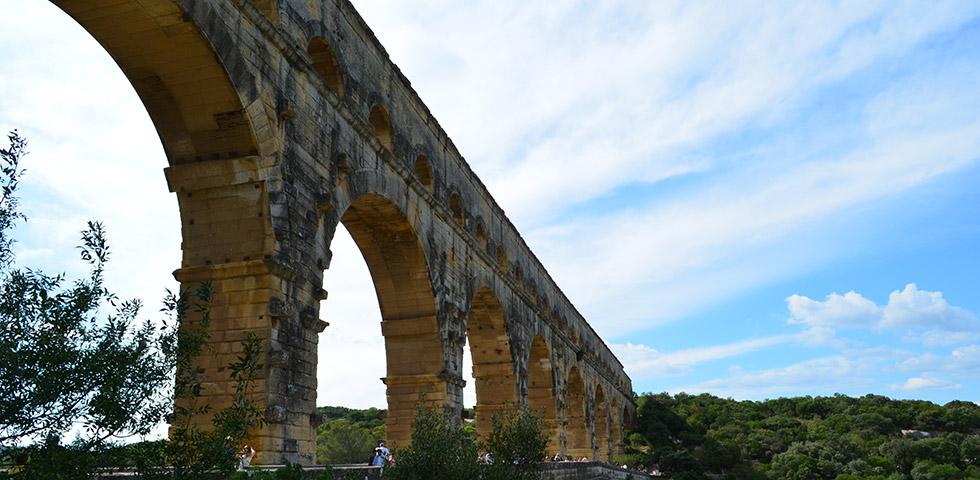 Pont du Gard bei Nimes