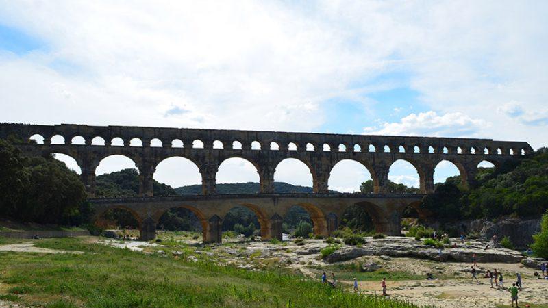 Pont du Gard - römisches Aquädukt bei Nimes