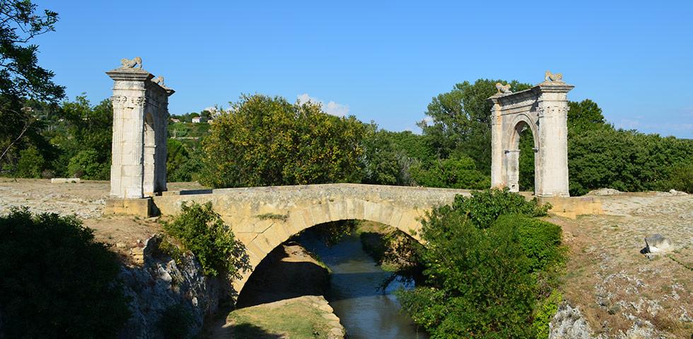 Pont Flavien Römerbrücke Saint-Chamas