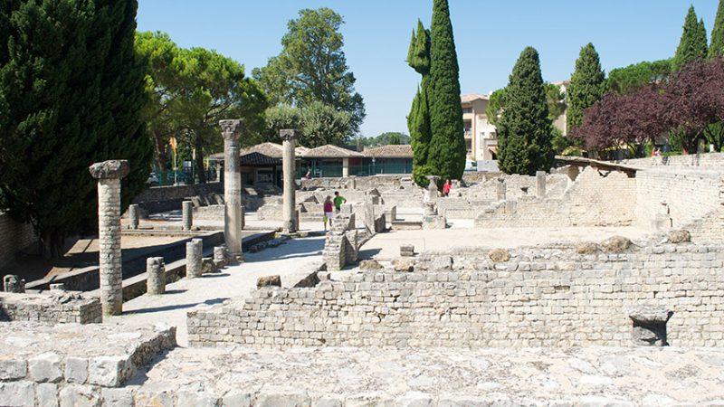 Ausgrabungen am Puymin-Hügel in Vaison-la-Romaine