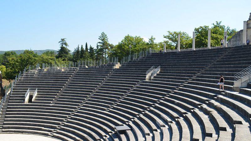 vaison-la-romaine-theater-roemisch-provence