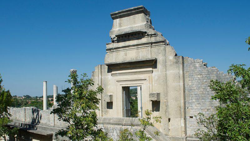 vaison-la-romaine-theater-rueckenansicht-provence