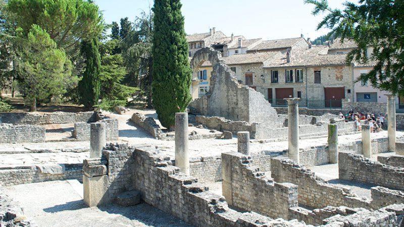 vaison-la-romaine-therme-provence