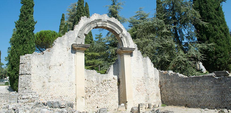 Römische Ruinen Vaison-la-Romaine Vaucluse