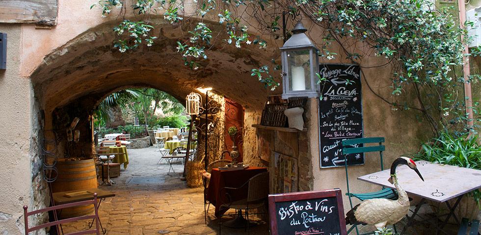 Restaurant Bormes-les-Mimosas Montée du Paradis Gasse