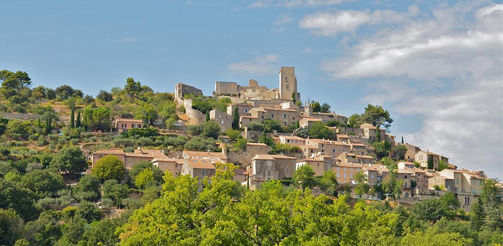Dorf Lacoste im Luberon