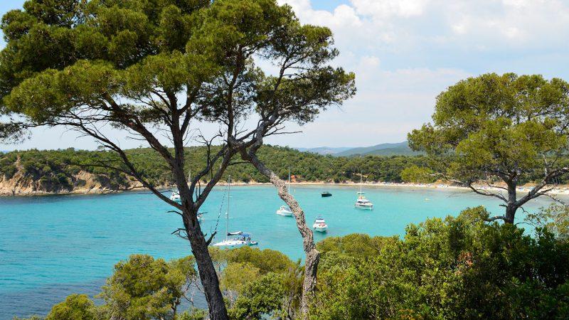 Plage d'Estagnol Cote d'Azur