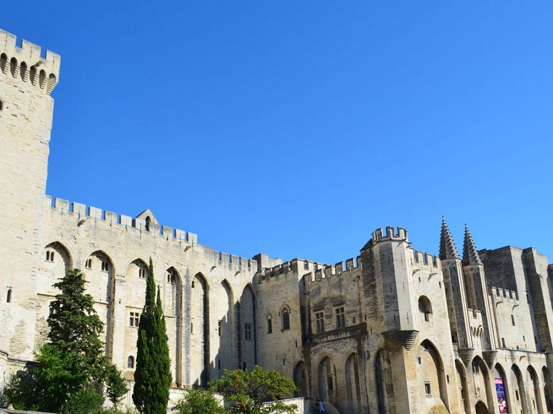 Papstpalast Avignon Palais du Pape