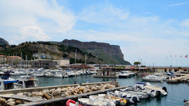 Basis Hafen Klippen Calanques