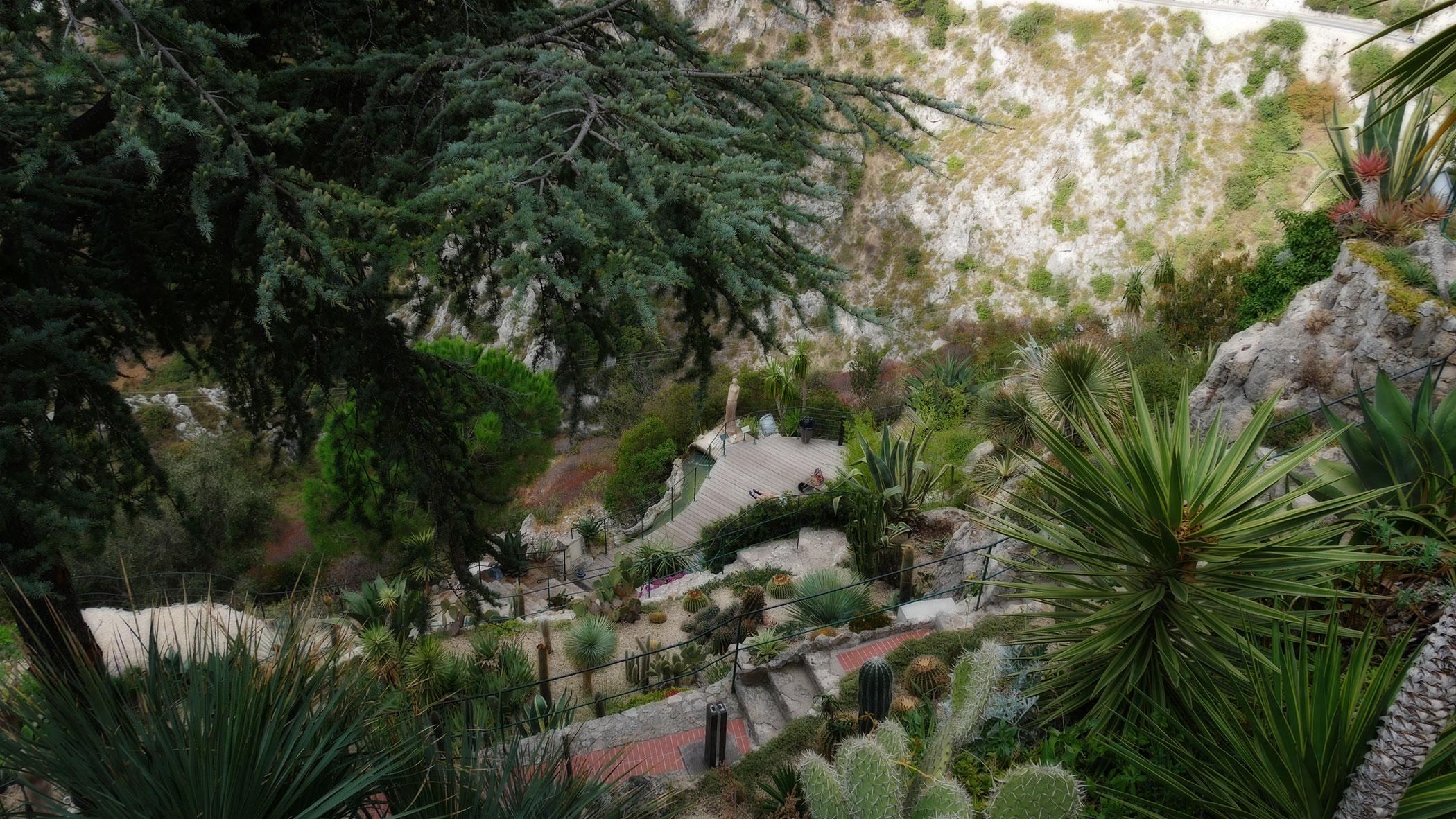 Jardin d'Exotique in Èze