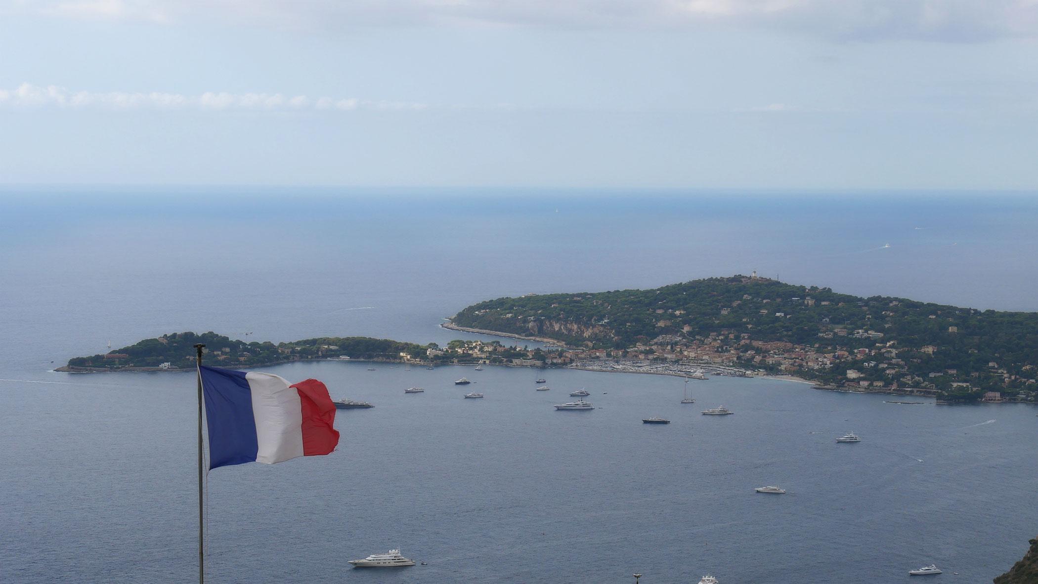 Blick auf Saint-Jean-Cap-Ferrat